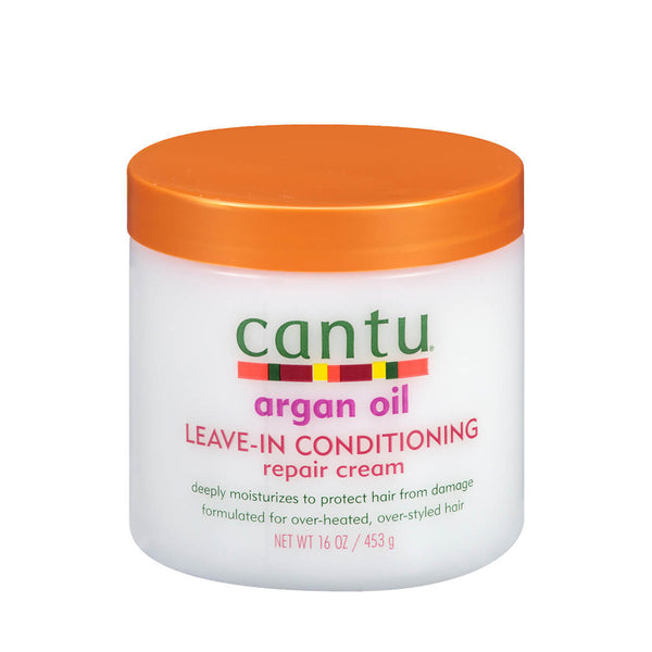 CANTU Leave-In Conditioning Repair Cream ARGAN OIL 16oz
