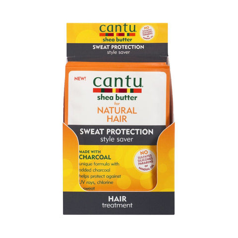 CANTU SHEA BUTTER FOR NATURAL HAIR SWEAT PROTECTION STYLE SAVER 1.5 OZ