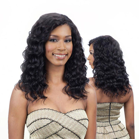 [Shake N Go] Saga Naked Brazilian Remy Natural Loose Deep Wave 7Pcs - Weaves
