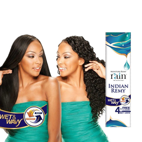 [Shake N Go] Rain Indian Remy Long Loose Deep 4Pcs - Weaves