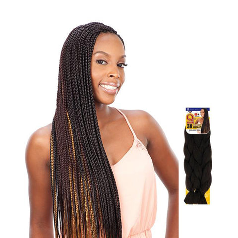 SHAKE N GO QUE 3X King Jumbo braid