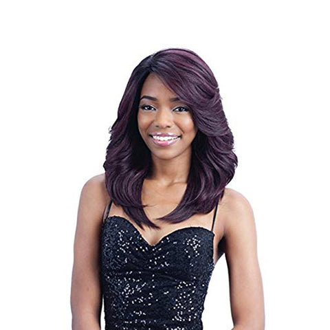 [Shake N Go] Equal Deep Invisible L Part Lace Front Wig Riley - Wigs