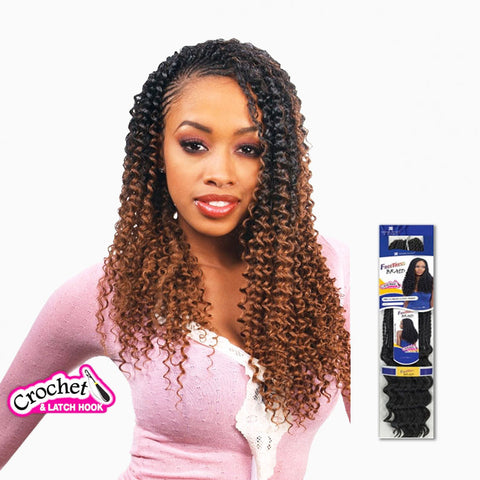 [Shake N Go] Freetress Braid Water Wave Bulk 22 - Braid