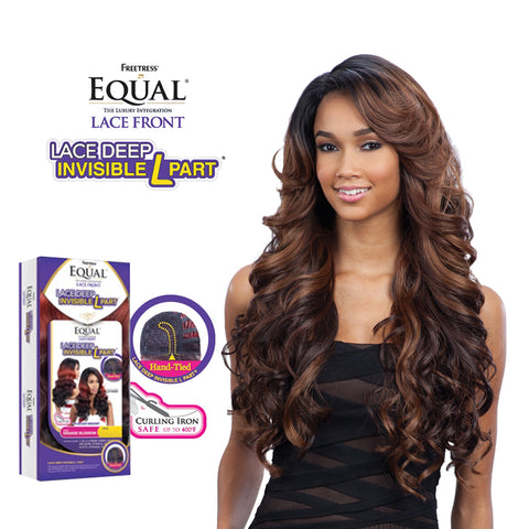 SHAKE N GO EQUAL Deep Invisible L Part Lace Front Wig KARISSA