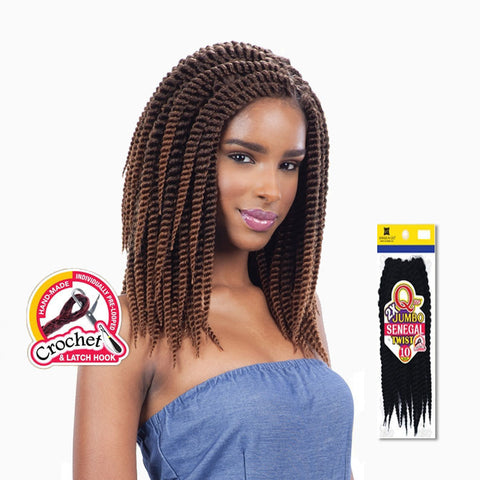 [Shake N Go] Que Jumbo Senegal Twist Braid 10 - Braid