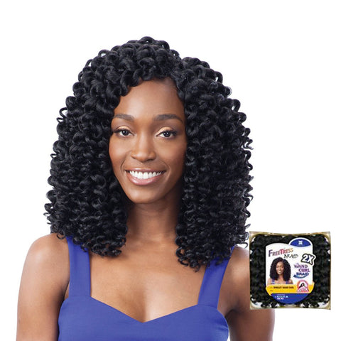 SHAKE N GO FREETRESS Braid 2X Ringlet Wand Curl
