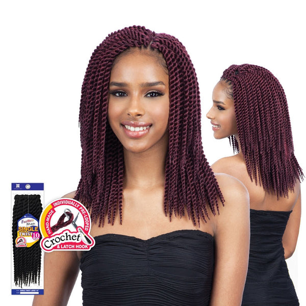 [Shake N Go] Freetress Braid Single Twist Large 10 - Braid