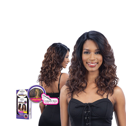 [Shake N Go] Equal Deep Invisible L Part Lace Front Wig Jimmie - Wigs