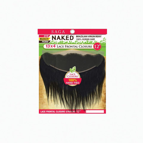 [Shake N Go] Naked Brazilian 100% Virgin Remy 13X4 Lace Frontal Straight - Hair Pieces