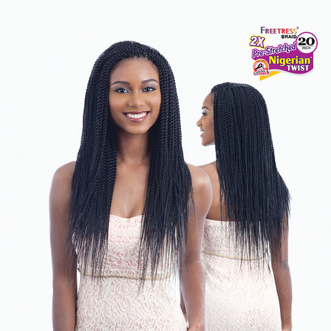[Shake N Go] Freetress Briad 2X Nigerian Twist 20 - Braid