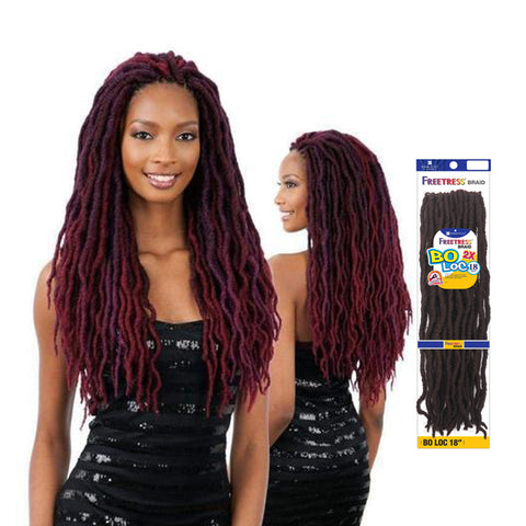 SHAKE N GO FREETRESS Braid 2x Bo Loc 18""