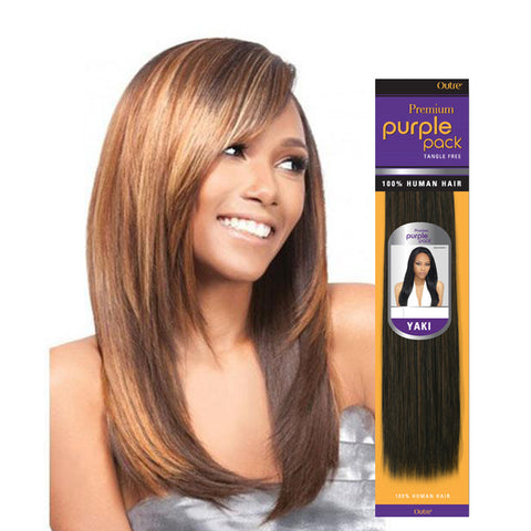 OUTRE PURPLE PACK 100% Human Hair Yaki