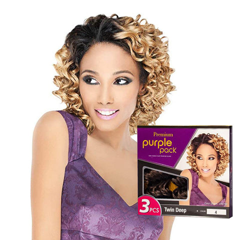 OUTRE PURPLE PACK 3pcs Twin Deep