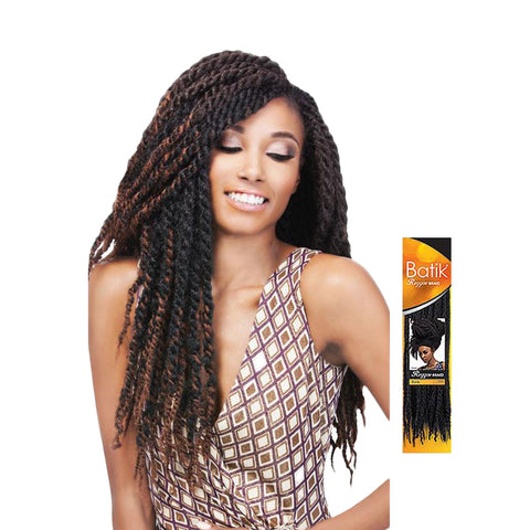 OUTRE, SENSATIONNEL  Reggae Braid 18""