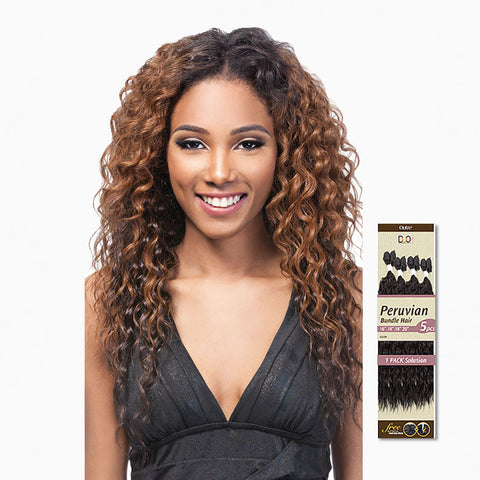 [Outre] Batik Duo Peruvian Bundle Hair 5Pcs - Weaves