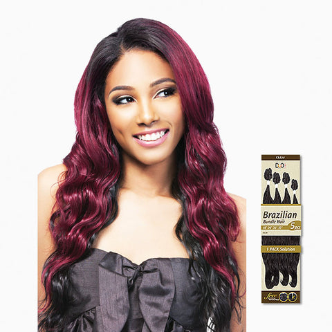 [Outre] Batik Duo Brazilian Bundle Hair 5Pcs - Weaves