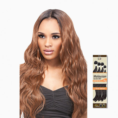 [Outre] Batik Duo Malaysian Bundle Hair 5Pcs - Weaves