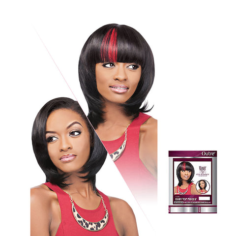 OUTRE VELVET Remi Clip-In Duby Top Piece 6""