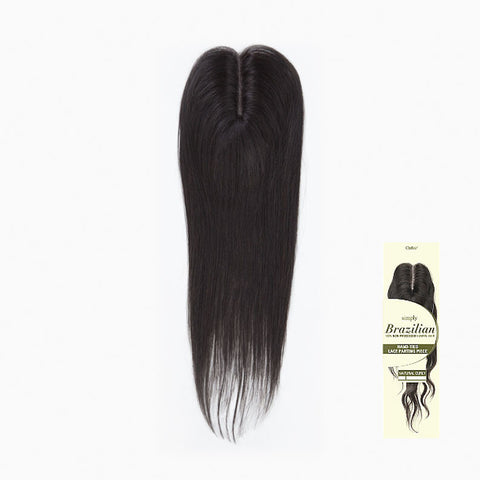 [Outre] Simply Brazilian Hand-Tied Lace Parting Piece - Natural Straight 16 - Hair Pieces