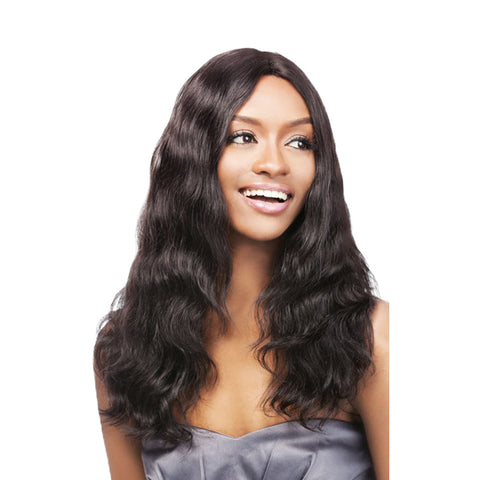 OUTRE SIMPLY 100% Non Processed Human Lace Front Brazilian NATURAL WAVE