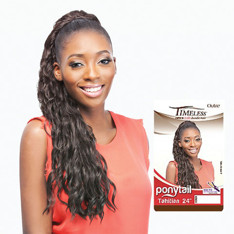 [Outre] Timeless Ponytail Bundle Tahitian 24 - Hair Pieces