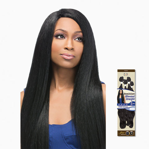 [Outre] Batik Duo Dominican Blowout Straight Bundle Hair 5Pcs - Weaves