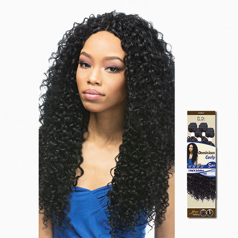 [Outre] Batik Duo Dominican Curly Bundle Hair 5Pcs - Weaves