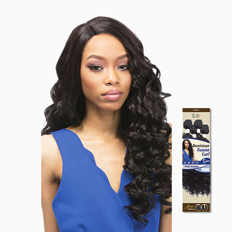 [Outre] Batik Duo Dominican Funme Curl Bundle Hair 5Pcs - Weaves