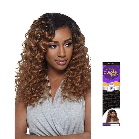 [Outre] Purple Pack 100% Human Hair Hawaiian Wave - Weaves