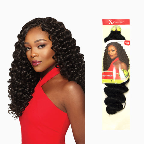 [Outre] X-Pression Braid 4 In 1 Loop Deep Twist 14 - Braid