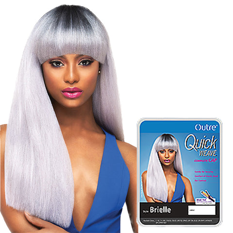 OUTRE Quick Weave Complete Full Cap Wig BRIELLE
