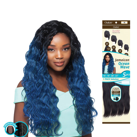 [Outre] Batik Duo Bundle Hair Jamaican Ocean Wave 5Pcs - Weaves