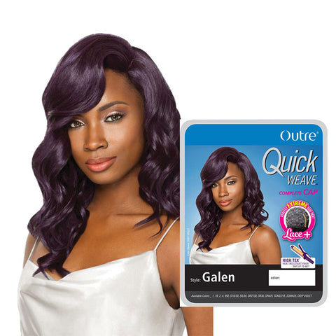 [Outre] Quick Weave Full Cap Wig Galen - Wigs