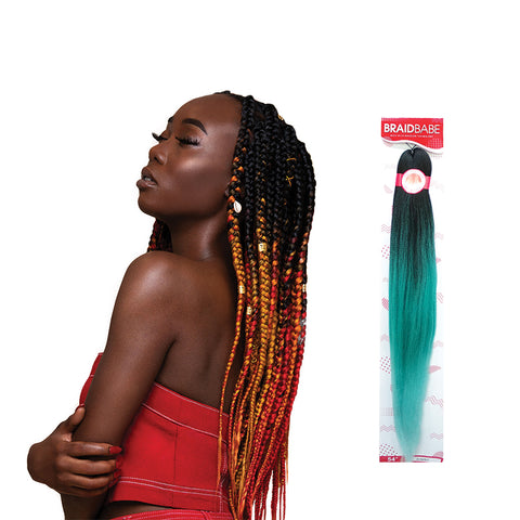 [OUTRE] Pre-Stretched Braid BABE 54""