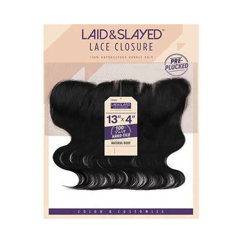 [OUTRE] Laid & Slayed Lace Closure 13x4 Natural Body