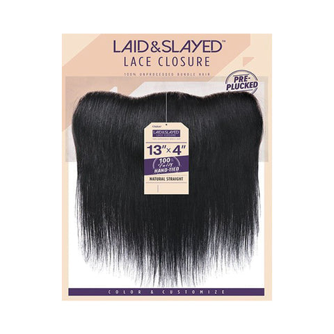[OUTRE] Laid & Slayed Lace Closure 13x4 Natural Straight