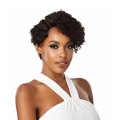 "OUTRE Human Hair Premiun Duby Diamond 6"" Lace Front Wig RINGLET CURL"