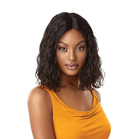 OUTRE The Daily Wig Human Hair Wig CURLY BLUNT CUT BOB 14""