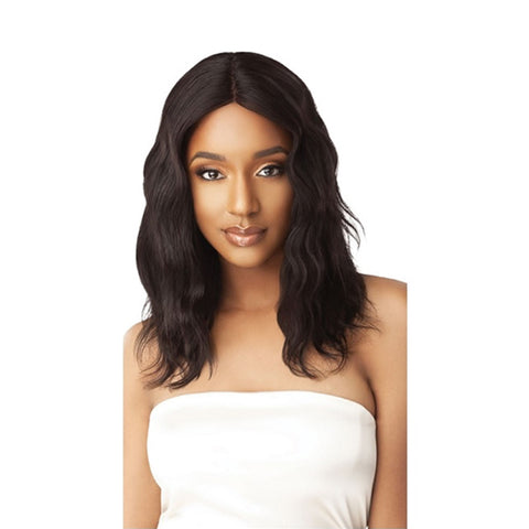OUTRE My Tresses Gold Label Human Hair Lace Front Wig Natural Wave 20""