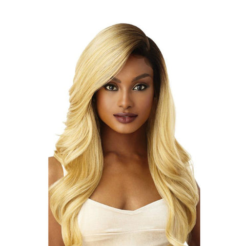 "OUTRE Synthetic Hair 5"" Deep L Part Swiss Lace Front Wig ARTEMIS"