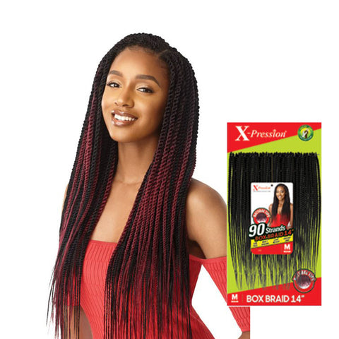 OUTRE X-Pression 90 Strands Senegal Twist Medium