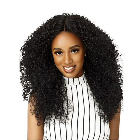 OUTRE Big Beautiful Hair Swiss Lace Front Wig 3A BOMBSHELL BOUNCE