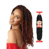 OUTRE Synthetic X-Pression Twitsted Up Crochet Braid Wavy Bomb Twist 18