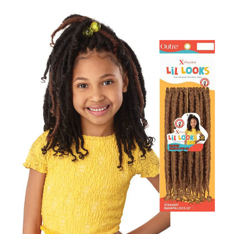 "OUTRE X-Pression LiL Looks Straight Bahama Locs 10"" (Kids)"
