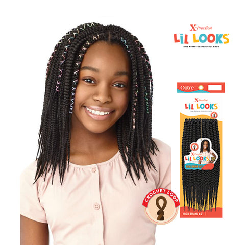 "OUTRE X-Pression LiL Looks Box Braid 10"" (Kids)"