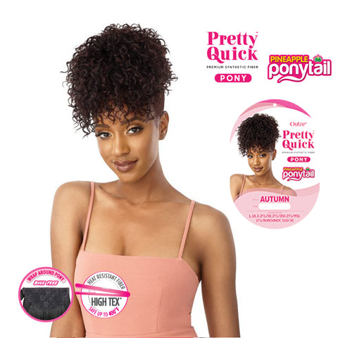OUTRE PRETTY QUICK Pineapple Ponytail Autumn