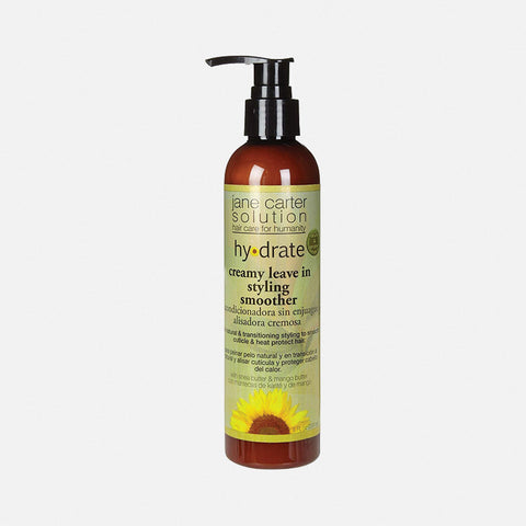 JANE CARTER SOULTIONS HYDRATE Creamy Leave-In Styling Smoother 8oz