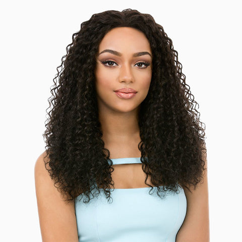 [Its A Wig] Brazilian Remi Hair Lace Front Wig Hot Wave - Wigs
