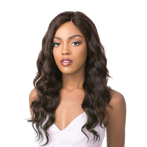 [Its A Wig] 100% Natural Human Hair 360 Swiss Lace Wig Orbit - Wigs