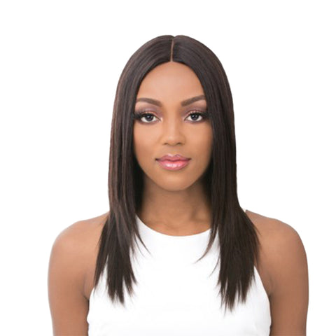 "[IT'S A WIG] 100% HUMAN HAIR 6"" DEEP LACE PART AISLEY"